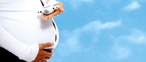 Полеты на самолете беременной